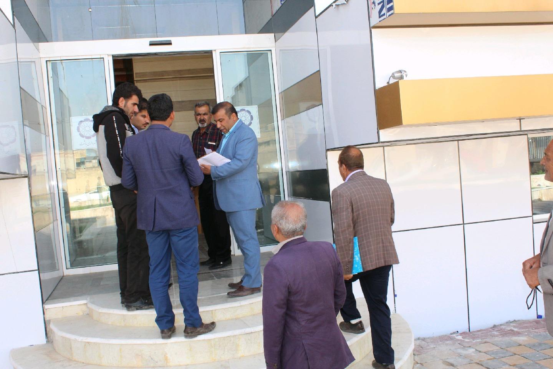 گزارش تصویری  از کارکنان شهرداری باشت در یک روز تعطیلی