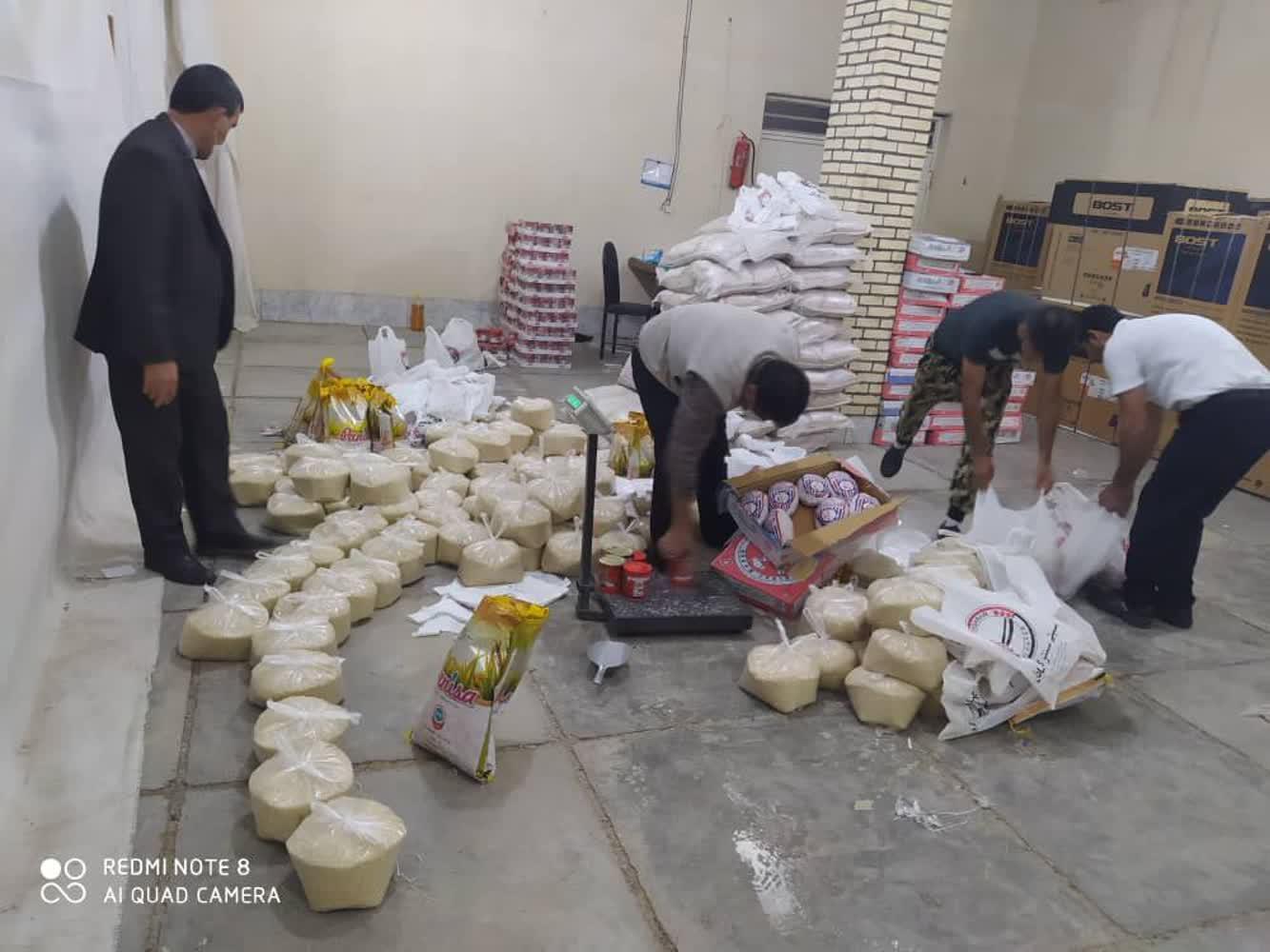 رئیس کمیته امداد باشت خبرداد توزیع بستههای معیشتی بین مددجویان باشت