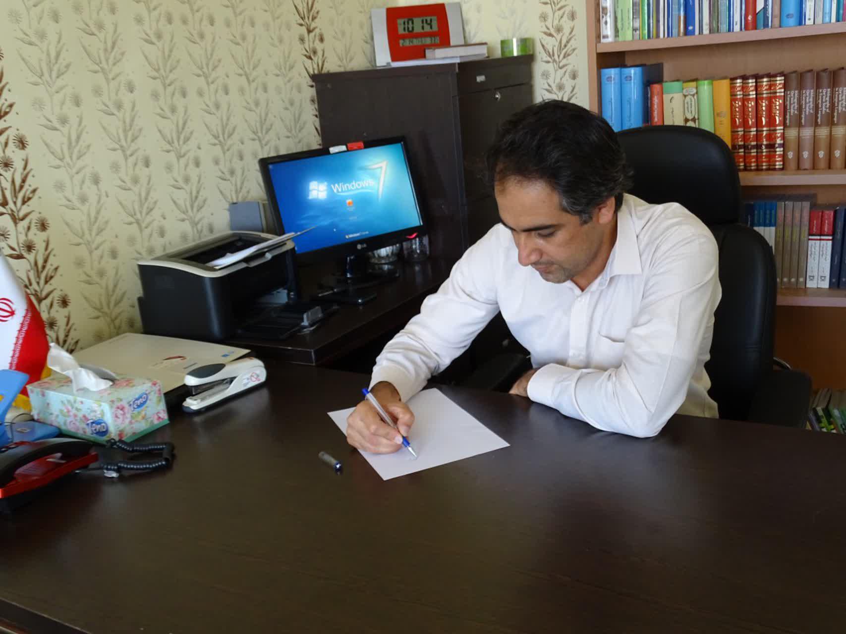 پیام تسلیت رئیس اداره فرهنگ و ارشاد اسلامی شهرستان باشت به مناسبت درگذشت سید عمران حسینی
