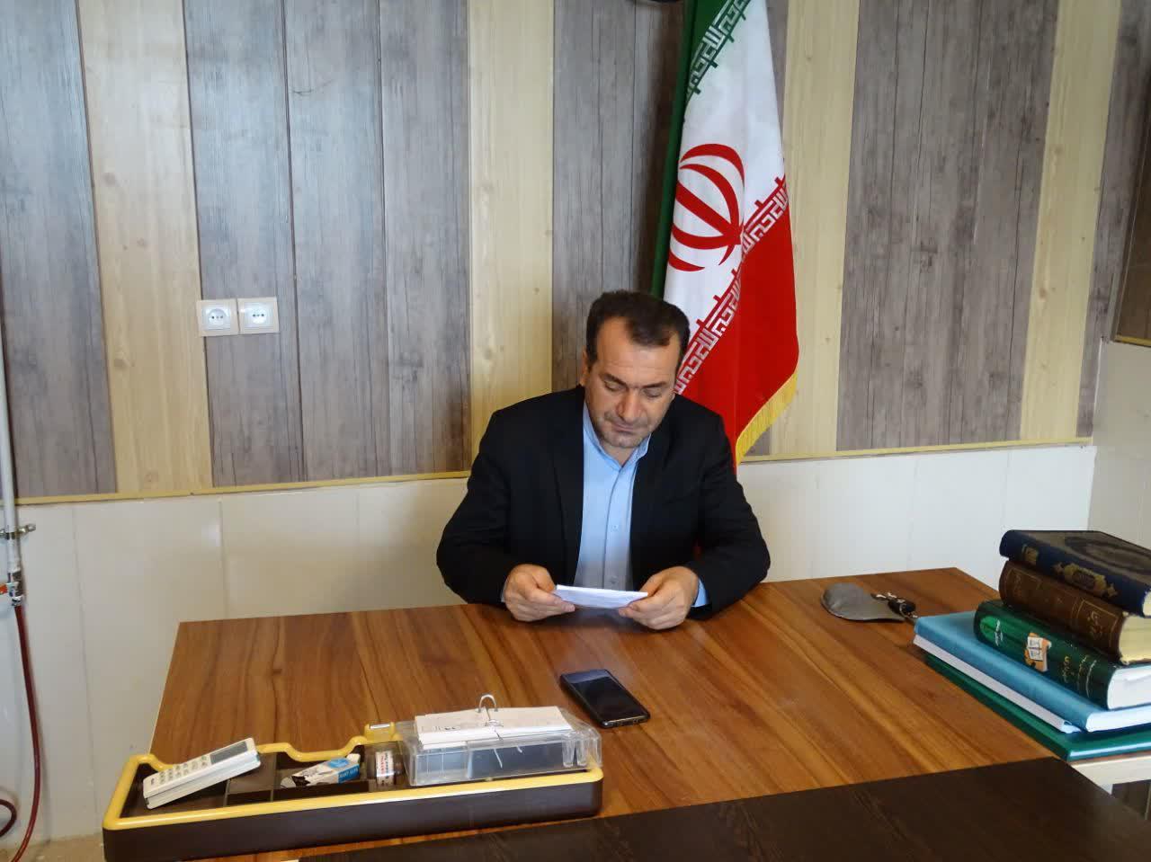 پیام رئیس شورای اسلامی شهر باشت به مناسبت ۹دی