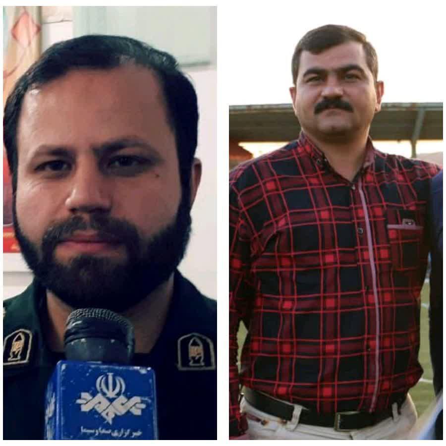 پیام تبریک رئیس هیت فوتبال شهرستان باشت به فرمانده جدید ناحیه مقاومت بسیج آین شهرستان