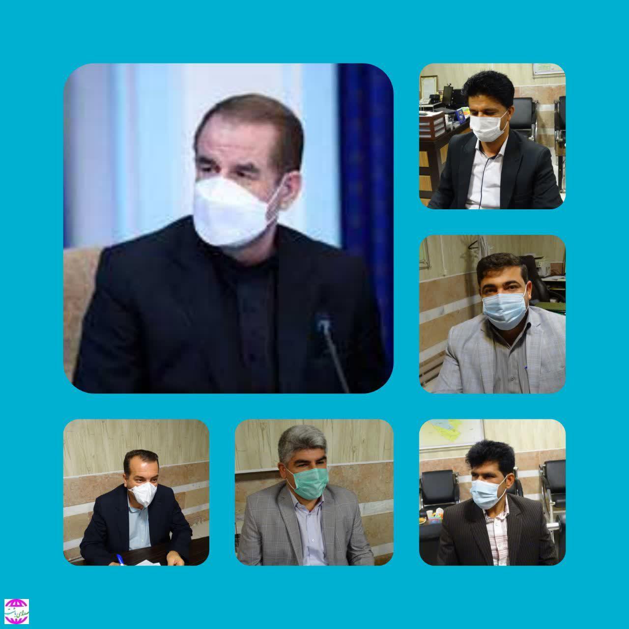 پیام تبریک اعضای شورای اسلامی شهر باشت به انتصاب استاندار جدید استان کهگیلویه و بویراحمد