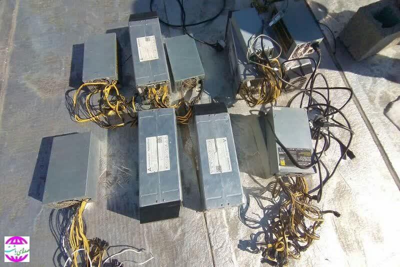 ۲۴ دستگاه تولیدکننده ارز دیجیتال در گچساران کشف شد.