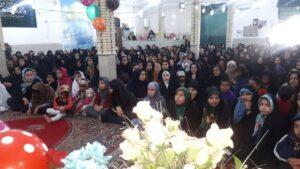 گزارش تصویری؛ جشن میلاد حضرت زینب(س) در باشت برگزار شد.