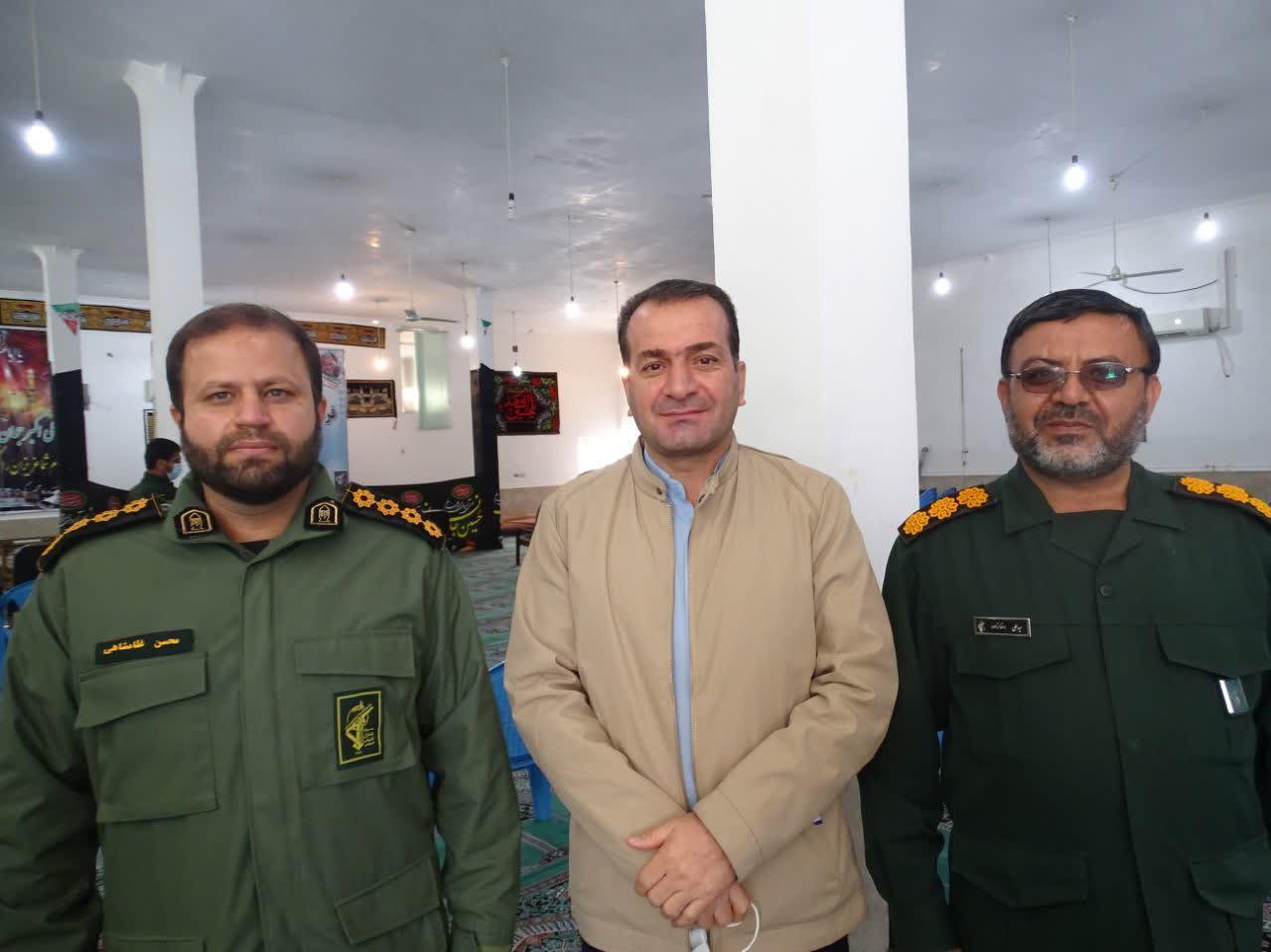 پیام تبریک رئیس شورای اسلامی شهر باشت به فرمانده جدید ناحیه مقاومت بسیج شهرستان باشت