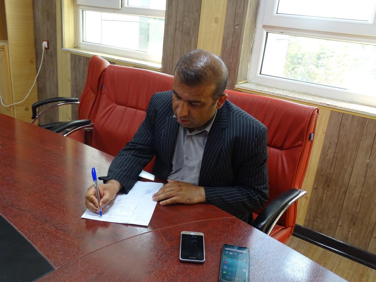 پیام تسلیت دکتر ریحان محمدپور مدیر ستادی قوه قضاییه به مناسبت فوت مرحوم خسرو کریم زاده،