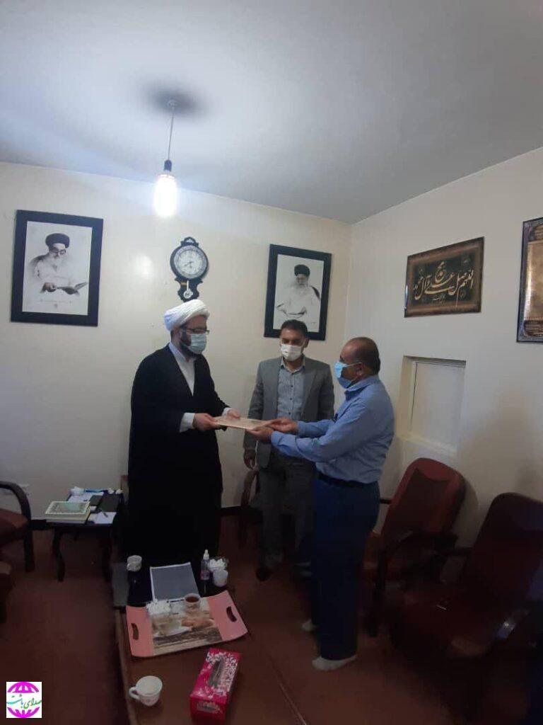 از خبرنگاران فعال منابع طبیعی شهرستان باشت تجلیل شد