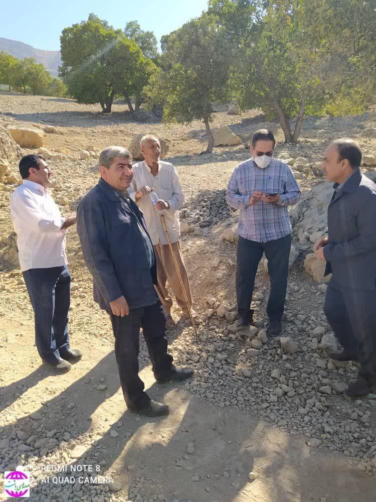 بازدید امدادگران کمیته امداد از روستاهای محروم پیچاب باشت به روایت تصویر